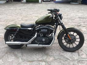 Harley Davidson Iron 883 Verde Militar 2013