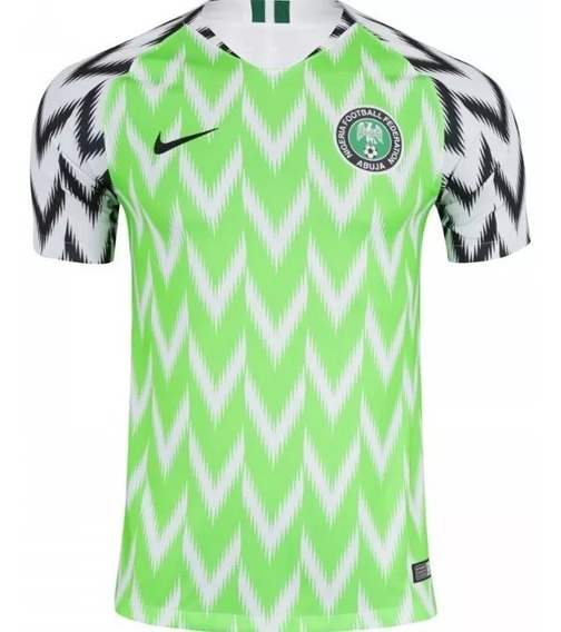 Camiseta Nigeria Oficial Nike 2018