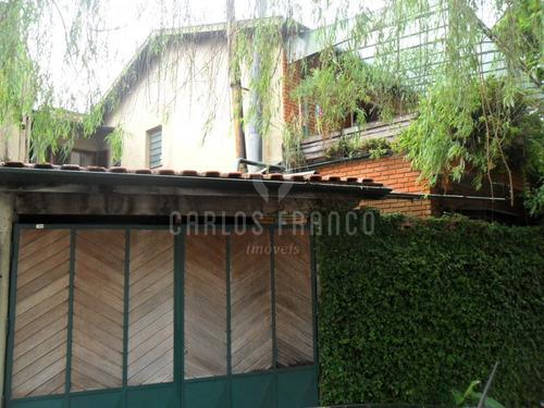 Sobrado No Jardim Petrópolis,  3 Dormitórios, 2 Vagas - Cf19917