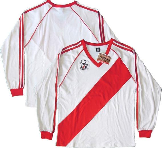 Camiseta Retro River Plate 1986 Campeón Intercontinental
