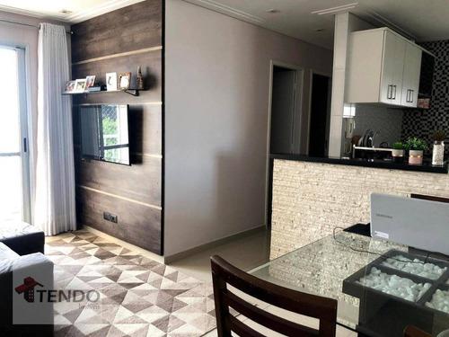 Apartamento 50 M² - Venda - 2 Dormitórios - Suíço - São Bernardo Do Campo/sp - Ap2405