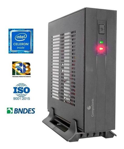 Computador Compusonic Mini (j3060 / 4gb Ddr3 / 320gb / 60w)