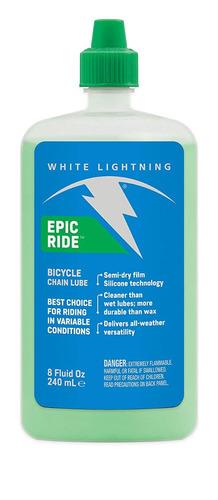 Imagen 1 de 4 de Aceite Lubricante White Ligtning Seco (60ml) - Racer Bikes