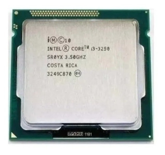 Core I3 3250 Lga 1155 3.50 Ghz 3mb Cache