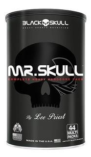 Mr. Skull 44 Packs ( Animal Pack )- Black Skull