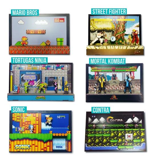 Super 3d Juegos Retro (mario Bros, Sonic, Street F, Y Mas)x1