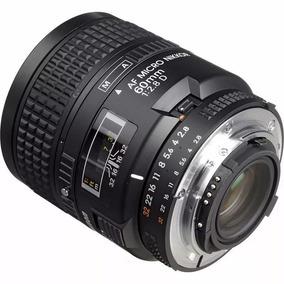 Lente Nikon - Nikkor 60mm Macro F-2.8