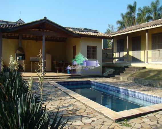Casa Em Condomínio Na Represa Parque Novo Horizonte - Piracaia. - Co00308