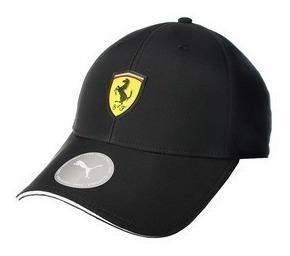 Gorra Ferrari Puma Negra Y Roja