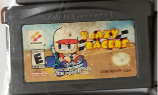 Juego Game Boy Advance Krazy Racers Local A La Calle