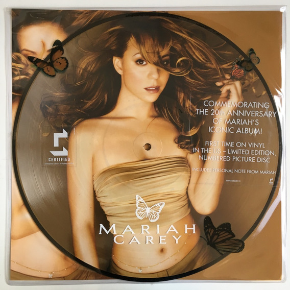 Mariah Carey - Butterfly 20th Anniversary - Lp Picture Disc.