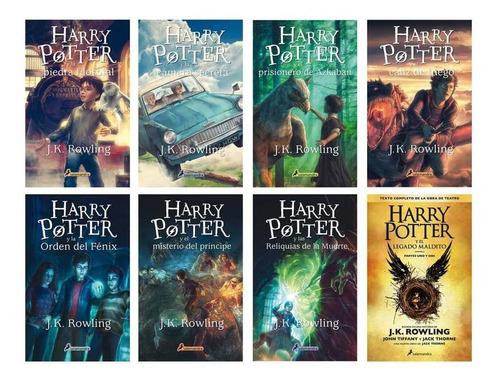 Harry Potter - Coleccion 8 Libros + 3 Extra