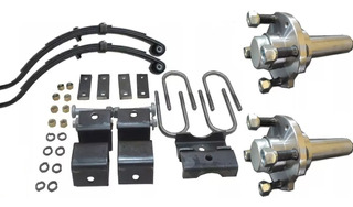 Kit Para Armar Trailer 900 Kg Kit 23 A Envio Gratis