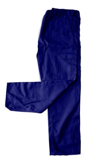 Pantalón Cargo Reforzado Trabajo Azul-verde-beige-negro