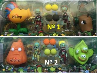 Juguete Planta Vs Zombies Guisantes Oferta Dia Del Niño X 3