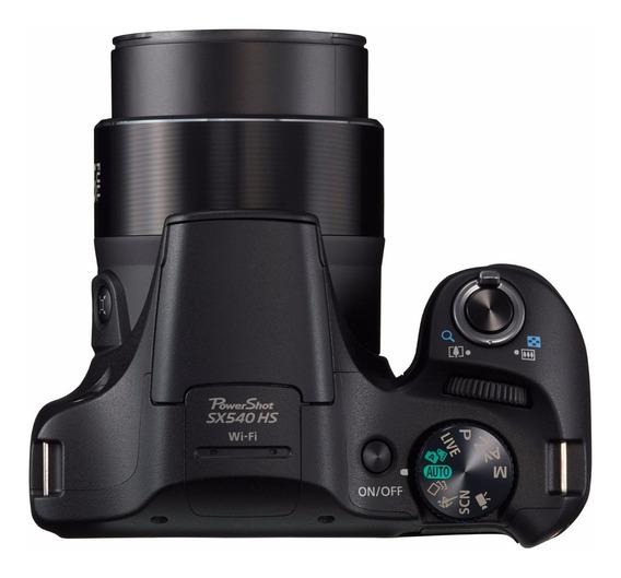 Câmera Canon Powershot Sx540 Hs Zoom50x Wi-fi Nfc