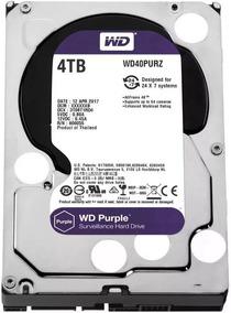 Hd 4tb Purple Western Wd Cftv Dvr Wd40purz