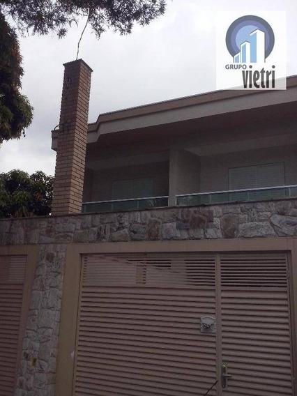 Sobrado Com 3 Dorms Sendo 1 Suite,sala, Cozinha, Churrasqueirae 2 Vagas De Garagem. - So1438