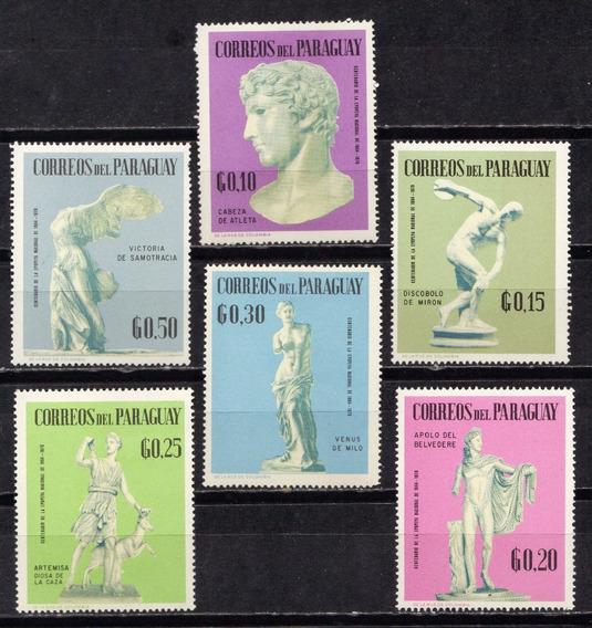 Numismza Paraguay 1963 Serie Mint ( A 250) Oferta