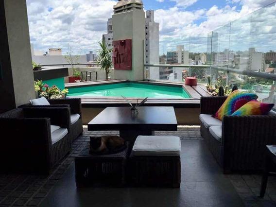Penthouse Con Piscina En El Centro, Amoblado Alquiler X Día