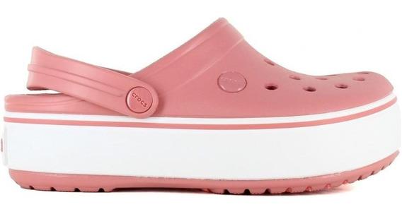 Crocs Plataforma Rosa Original Envio Gratis