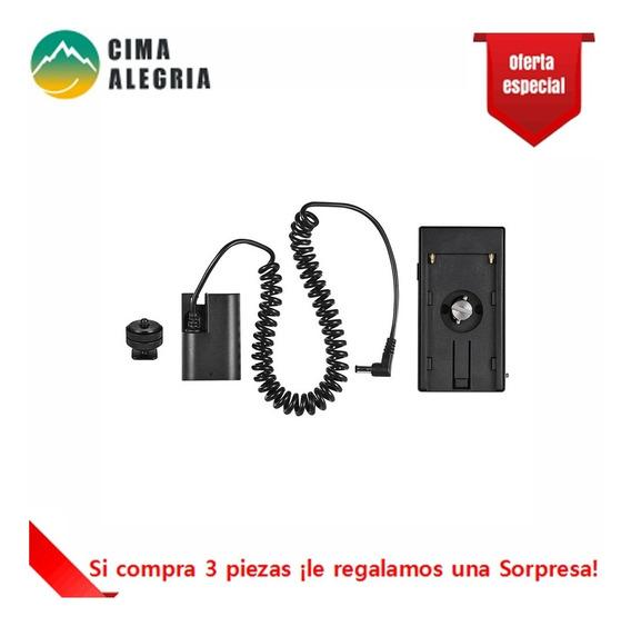Placa De Bateria Fictcia Andoer Preta Np-f970