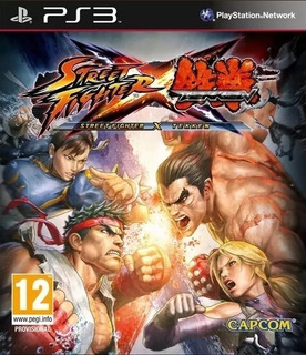Street Fighter X Tekken Ps3 Original-play Perú