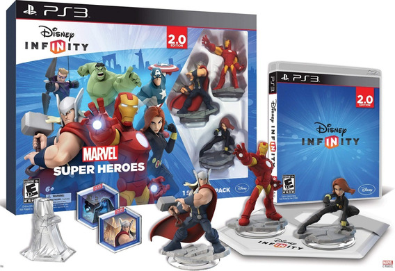 Disney Infinity 2.0 Starter Pack Marvel Super Heroes Kit Ps3