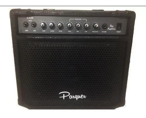 Amplificador Parquer De Bajo 20 Watts Cod Ba20 Cuota