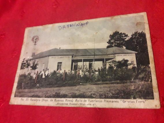 Antigua Postal Asilo De Huérfanos Alemanes German Frers 1909