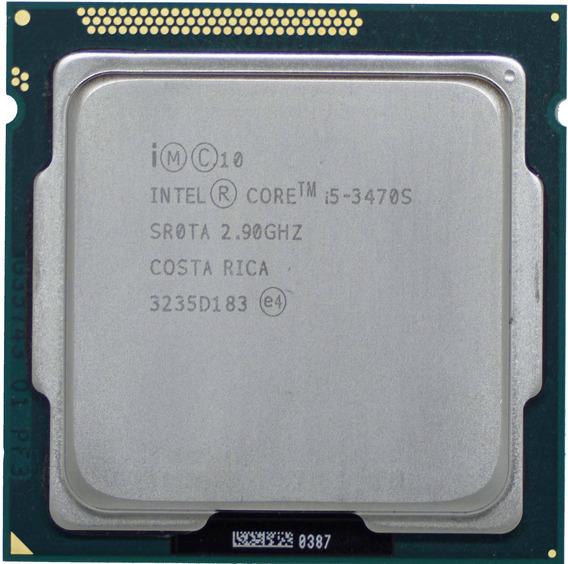 Processador gamer Intel Core i5-3470S BX80637I53470S de 4 núcleos e 3.6GHz de frequência com gráfica integrada