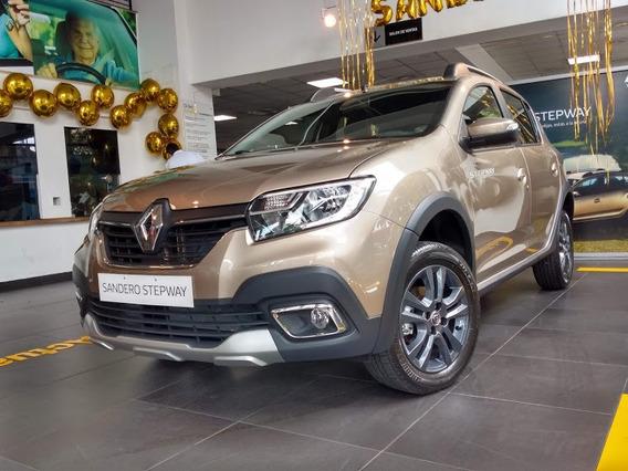 Renault Stepway Intens Cvt 1.6sce 0km 2020 Patento Ya (mac)