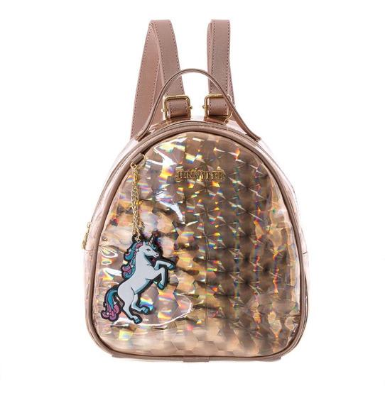Bolsa Unicornio Mochila Backpack Dama Jennyfer Original 8886