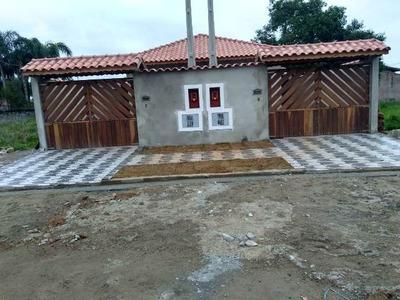Casa Nova Em Aceitando Financiamento Bancário Ref 4700