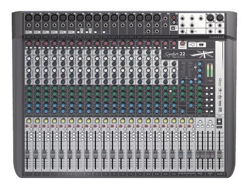 Mixer Soundcraft Signature 22 Mtk Consola Usb Efecto Cuotas