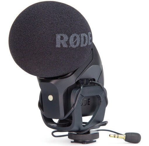 Microfone Rode Stereo Videomic Pro