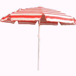 Sombrilla Parasol De Lona Para Playa Acero Plegable 1,80mts