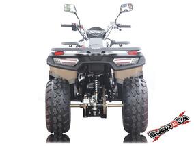 Quadriciclo Brutus 200cc Utilitário Painel Digital