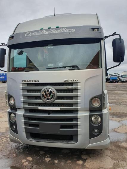 Volkswagen 25.420 6x2 2014 Automático! $140.000