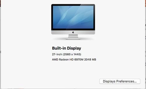 iMac 27 3.4gh Core I7 8gb Ddr3 Amd Radeon Hd6970m 2048 Mb