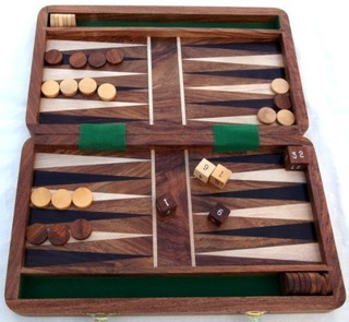 Juego De Backgammon - Juego De Estrategia Fantástico De Thor