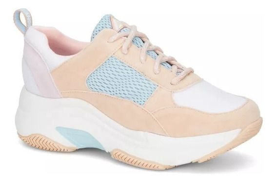 Tenis Chunky Sneakers Mujer Ideal Sport Yoga Caminar 2627984