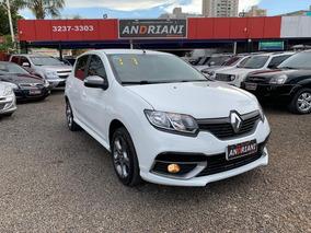 Renault Sandero Gt Line 1.6 Branco 2017
