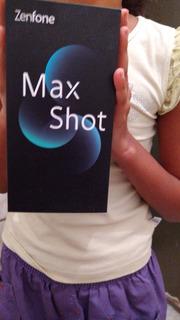 Zenfone Max Shot 64 Gb,preto 2 Chip,3 Meses De Uso