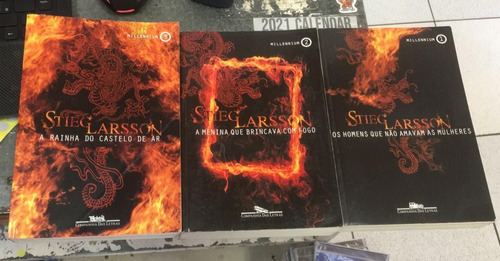 Livro Trilogia Millennium Stieg Larsson