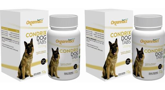 2 Un Condrix Dog Tabs 72g 1200mg Organnact