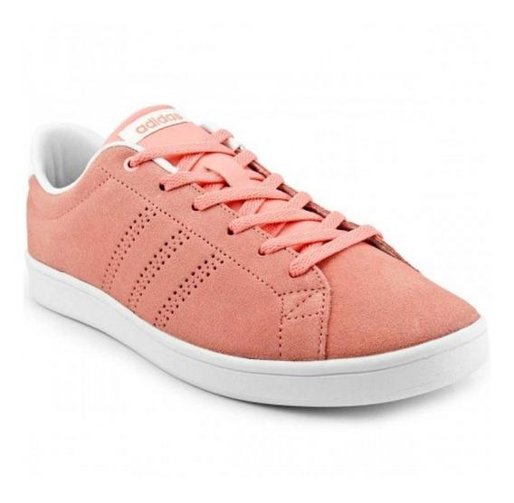 Tênis adidas Advantage Clean Qt Rosa Feminino Original