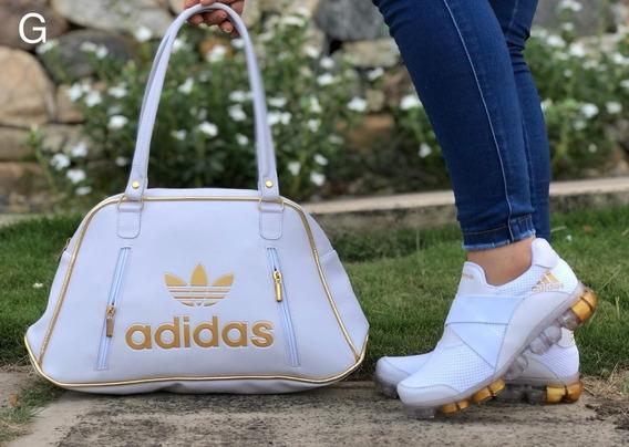 Combo Tenis Zapatillas + Bolso Colombianos Dama Envió Gratis
