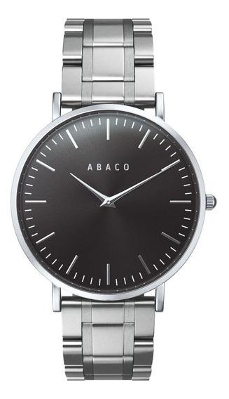 Reloj Ejecutivo Hombre Acero Elegante Acero Premium Abaco