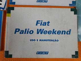 Manual Proprietário Fiat Palio Wekeend 96